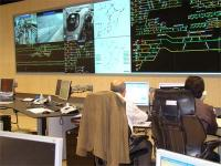 Control room for Renfe in Madrid