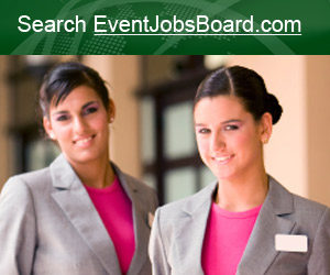 Search Event Jobs in hospitality, hotels, restaurants, travel, tourism, events and meetings at EventJobsBoard.com.