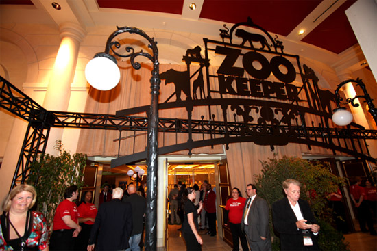 The Colosseum at Caesars Palace Zoo Keeper Screening at CinemaCon