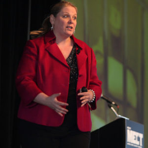 Janine Driver at HSMAI 2012 in Chicago