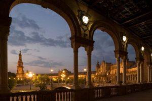 Sevilla Plaza de Eespana, courtesy of Tourist Office of Spain