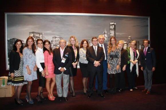 Turismo Andaluz Delegation, September 2013