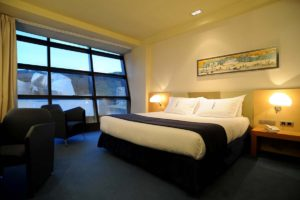 Premium Deluxe Room at Silken Gran Domine in Bilbao, Spain