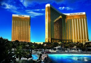 Mandalay Bay exterior. Courtesy of MGM Resorts
