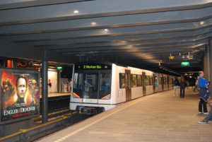 Oslo Nationaltheatret Station. Courtesy image by Maxxi under Creative Comms license.
