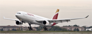 Iberia Airbus A330, Courtesy image