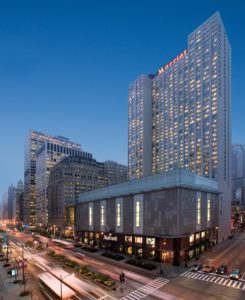 Chicago Marriott Magnificent Mile Exterior, courtesy image