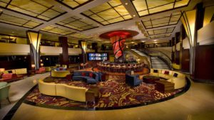 Chicago Marriott Magnificent Mile Lobby, courtesy image