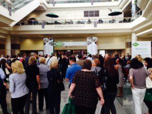 At Orange County Convention Center in Orlando, Fla. (c) 2014 Rob Hard
