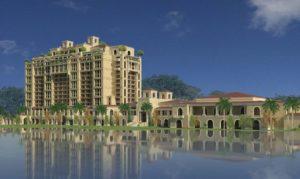 Four Seasons Orlando exterior rendering courtesy image