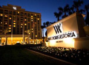 Waldorf Astoria Orlando exterior courtesy image
