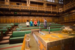 London Houses of Parliament Commons Chamber courtesy image