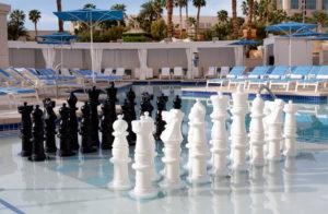 Delano Beach Club - Chess Board  (courtesy image MRM Resorts International)