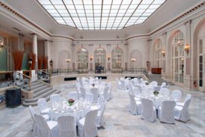 Event setup at London Waldorf Hilton. Courtesy image