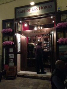 Cafe de las Horas in Valencia, Spain