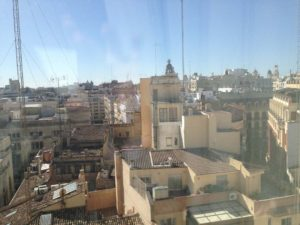 Guest Room View Room 716 Astoria Palace in Valencia, Spain