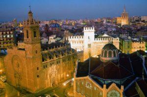 Historic City Center in Valencia, Spain