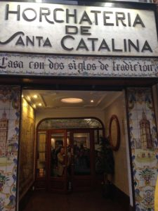 Horchateria de Santa Catalina - Enjoy the Local Horchata
