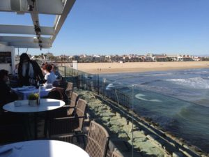 Panorama Restaurante Outdoor Terrace in Valencia, Spain