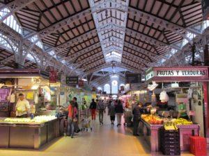 Valencia Central Market Stalls