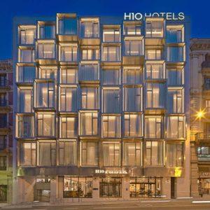 H10 Cubik Hotel Barceloan Exterior