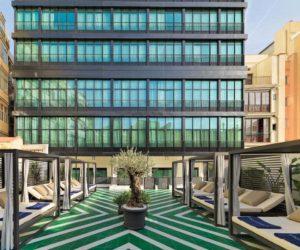H10 Cubik Hotel Terrace Chaise Lounges