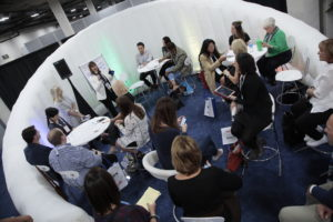 IMEX America 2017 Hot Topics Table at Inspiration Hub