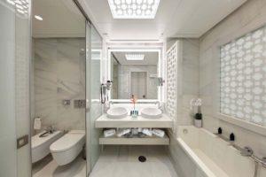 Gran Hotel Miramar Malaga Guest Suite Bathroom