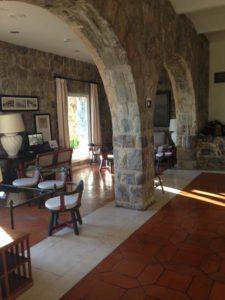 Lobby at Parador de Malaga Gibralfaro
