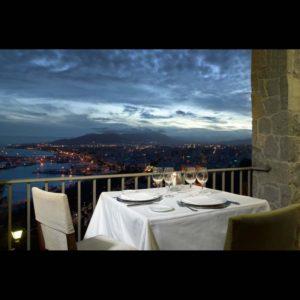 Parador of Malaga Terrace View