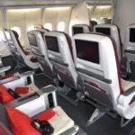 Iberia Airlines Premium Economy Section