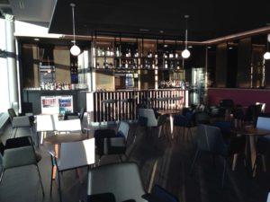 Iberia Madrid T4 Business Lounge Cafe Bar