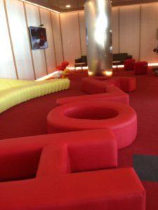 Iberia Madrid T4 Business Lounge Kids Area