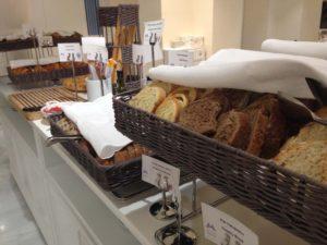Breads at Breakfast Buffet at Mediterraneo Restaurant at Gran Hotel Miramar