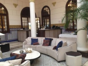Gran Hotel Miramar Lobby Seating Area