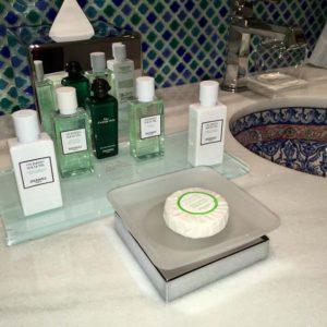 Hermes Collection Bath Amenities Are Standard at Gran Hotel Miramar Malaga
