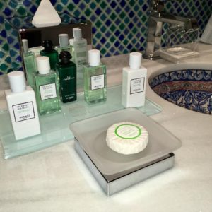 Hermes Collection Bath Amenities Are Standard at Gran Hotel Miramar Malaga