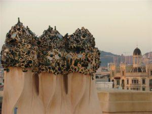 Casa Mila in Barcelona Rooftop