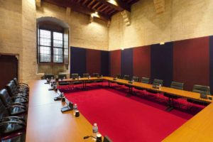 Palace of the Popes Convention Centre in Avignon, France (meeting space)