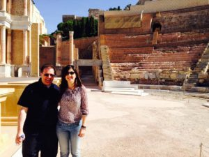 Cartagena Roman Theater with Mar