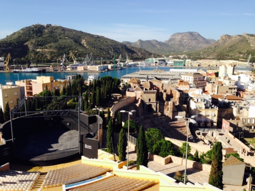 Cartagena Spain View
