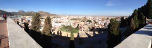 Cartagena Spain View from Parque Torres