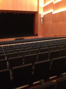 Chamber Music Hall at Baluarte in Pamplona
