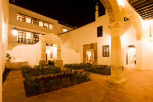Casa de la Juderia at Night
