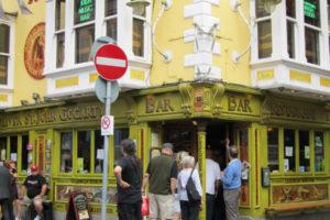 Oliver St. John Gogarty in Dublin's Temple Bar