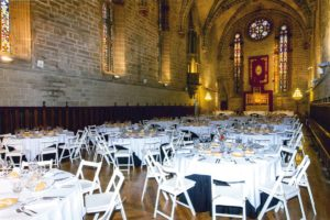 Event Setup at Pamplona Cathedral