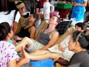 Foot Massage Is Popular in Bangkok