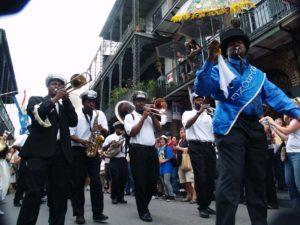 French Quarter Festival Secondline