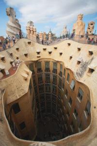 Chimneys View at Casa Mila‡ in Barcelona