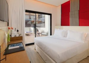H10 Cubik Barcelona Classic Room with Terrace